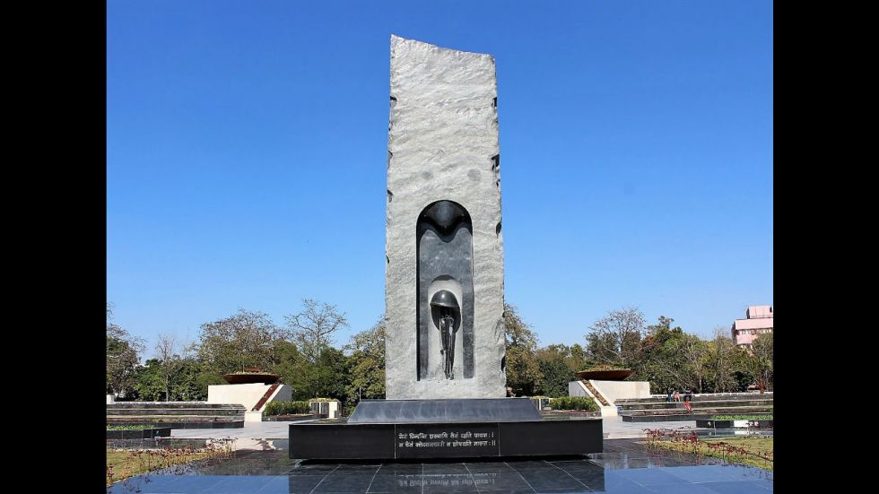 The police memorial in Delhi