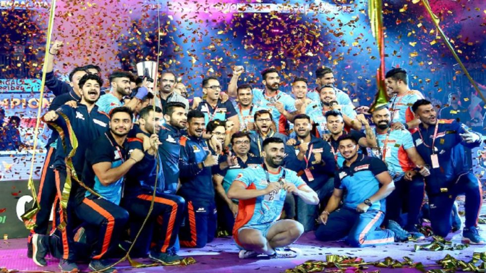 Pro Kabaddi League: Bengal Warriors Lift Maiden Title