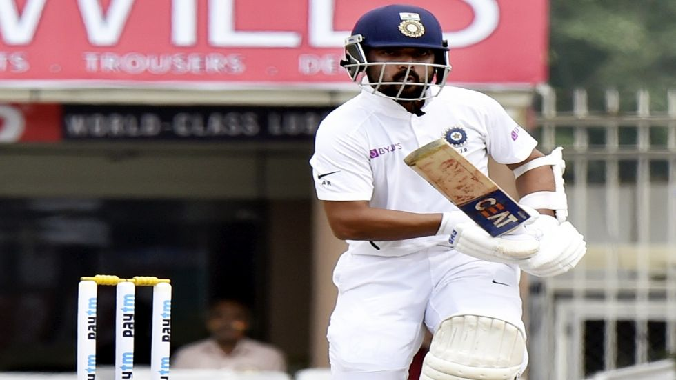 Ajinkya Rahane slammed his 11th Test century and shared a partnership in excess of 200 with Rohit Sharma in the Ranchi Test.