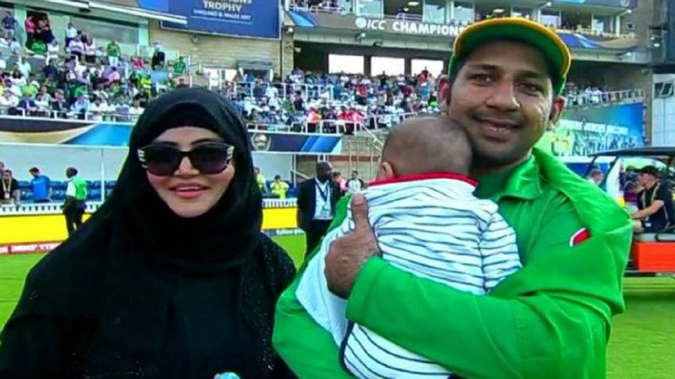 Sarfaraz Ahmed's wife Syeda Khusbakht has criticised speculations that her husband was retiring following his removal as Pakistan's T20I and Test skipper.
