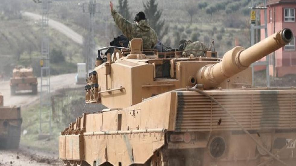 Turkey on Saturday denied Kurdish forces' claim that Ankara is blocking their pullout from a proposed safe zone along the border under a US-brokered agreement.