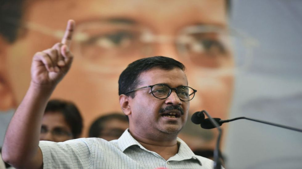 Arvind Kejriwal claimed that his government's work gained more popularity after he was not allowed to visit Denmark.
