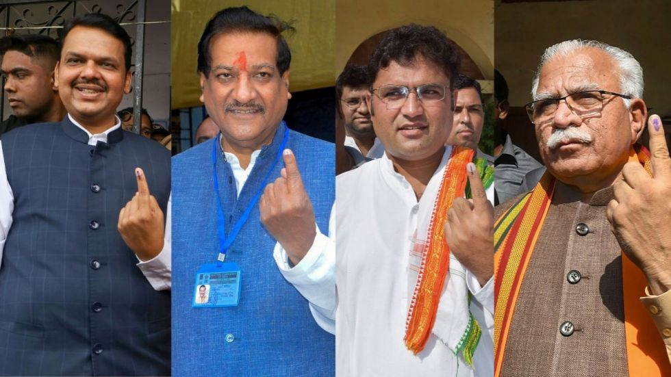 Maharashtra Haryana Elections Polling Ends In Two States