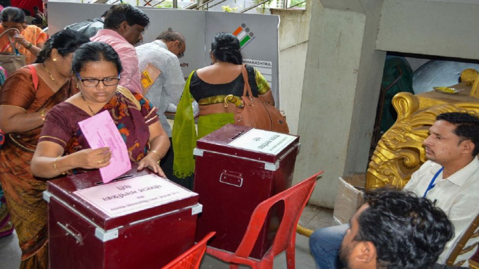 The bypolls to the five assembly constituencies in Kerala were marred by heavy rains.