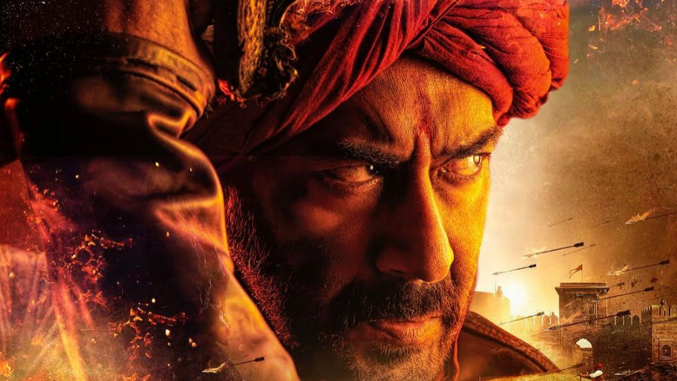 Ajay Devgn Looks Fierce As Maratha Warrior.