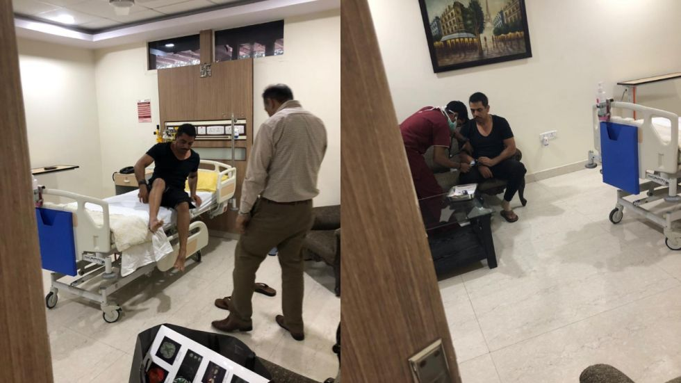 Robert Vadra discharged from Noida's Metro Hospital after overnight observation