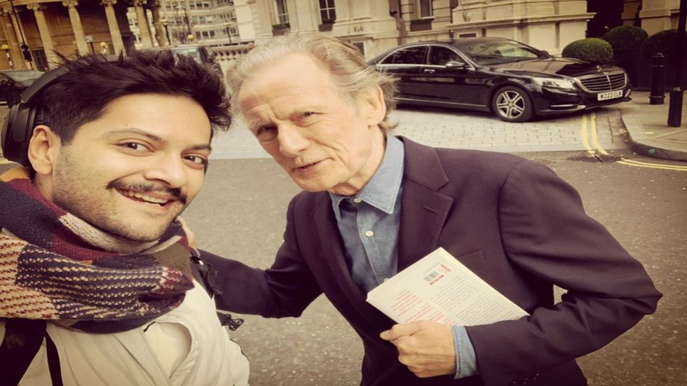 Ali Fazal Gets 'Thumbs Up' From Pirates of Caribbean Actor Bill Nighy