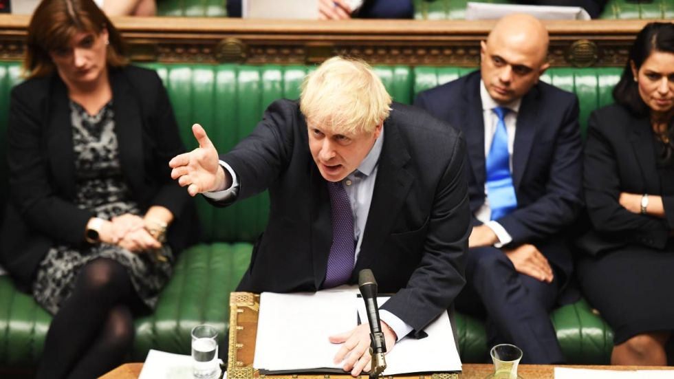 Boris Johnson said he would speak to EU leaders and urge them not to agree to a prolonged Brexit extension