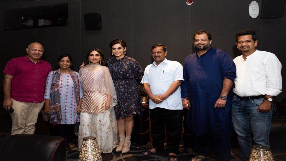 Delhi Chief Minister Arvind Kejriwal Reviews Saand Ki Aankh