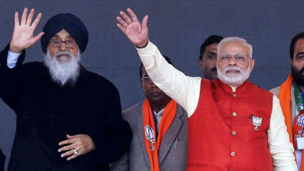 Former Punjab chief minister and patron of Shiromani Akali Dal Parkash Singh Badal is likely to mediate between the BJP and JJP, according to sources.