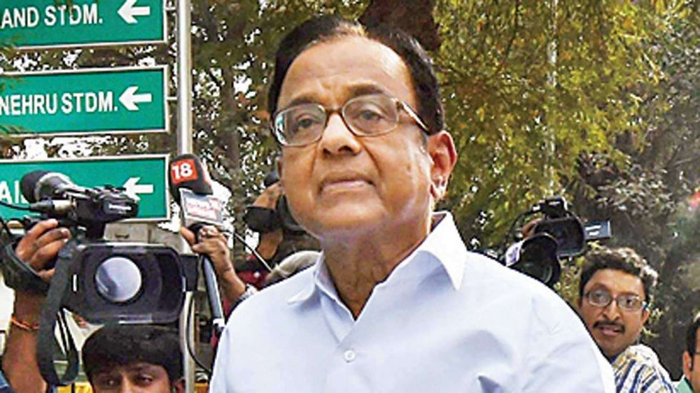 Chidambaram has asked for bail in the INX media case