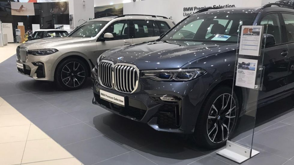 BMW X7 Sold Out in India