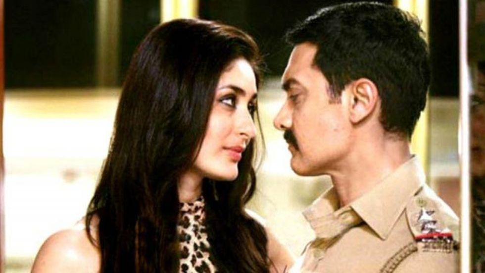 Kareena Kapoor Khan with AAmir Khan in a still from Talaash: The Answer Lies Within