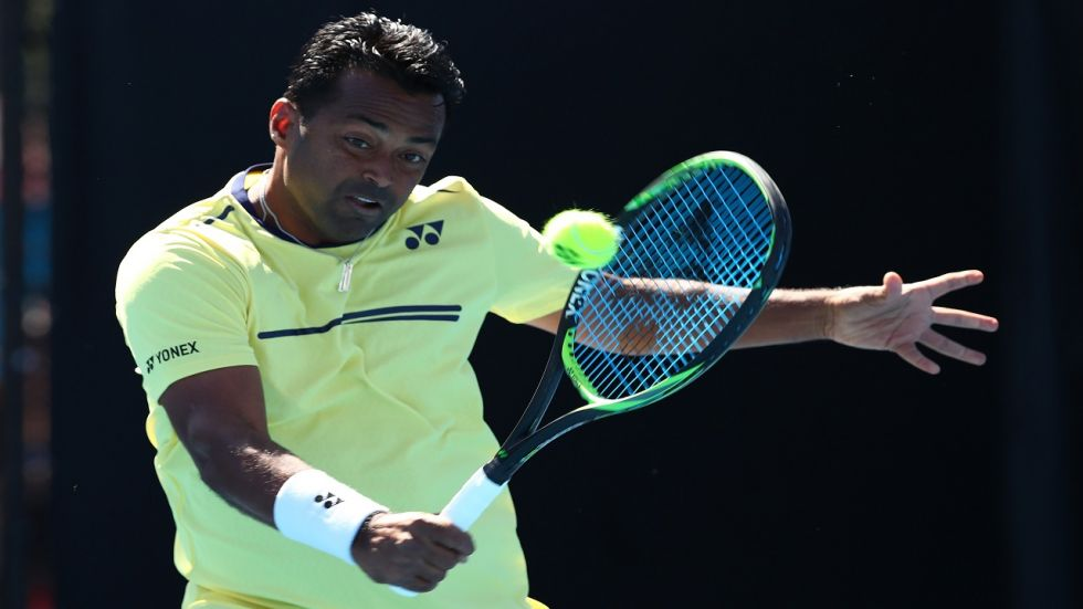 Leander Paes has not played for India since April 2018 in the Davis Cup tie against China.