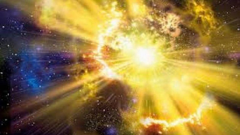 'Massive Galaxy Found Hidden Amidst Cosmic Dust'