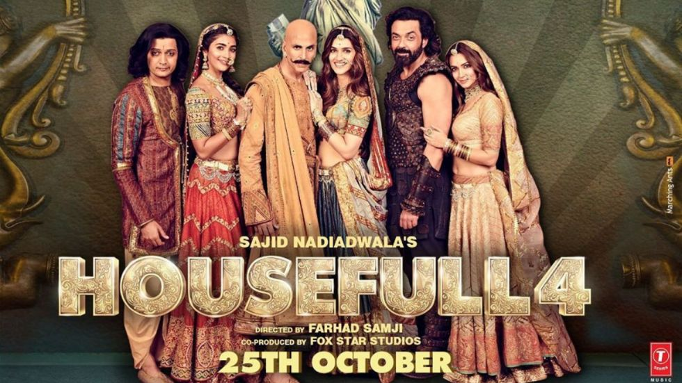 Housefull 4 Box-Office Collection Day.