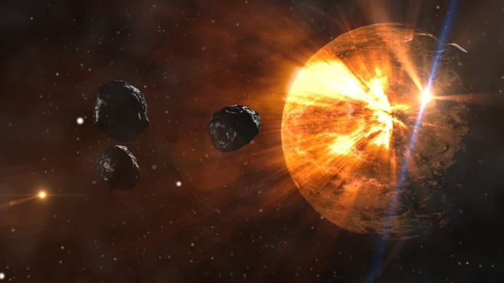 4 asteroids Hurtling Towards Earth Dangerously