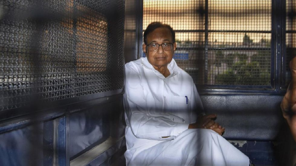 Chidambaram was arrested by the CBI on August 21 in the INX Media corruption.