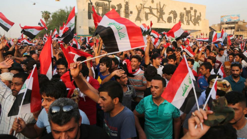 Mass Protest in Iraq