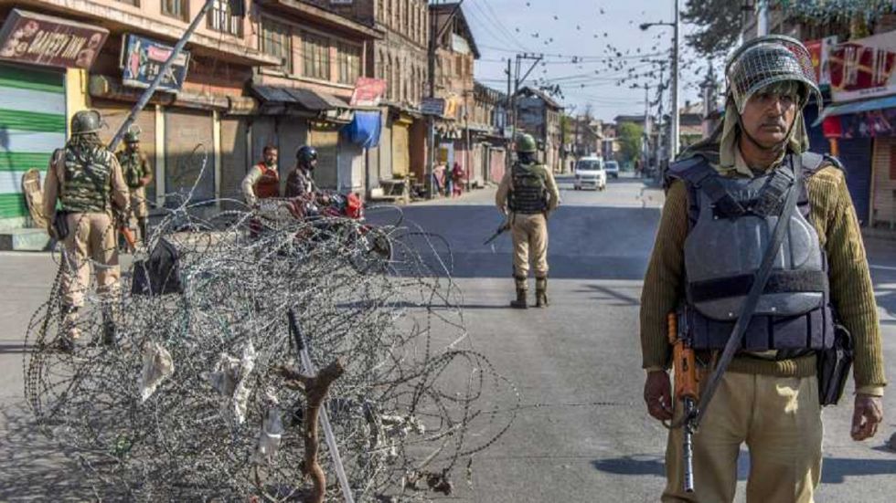 The seriously injured person has been referred to a hospital in Srinagar.