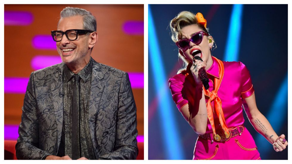 Jeff Goldblum Records A Duet With Miley Cyrus