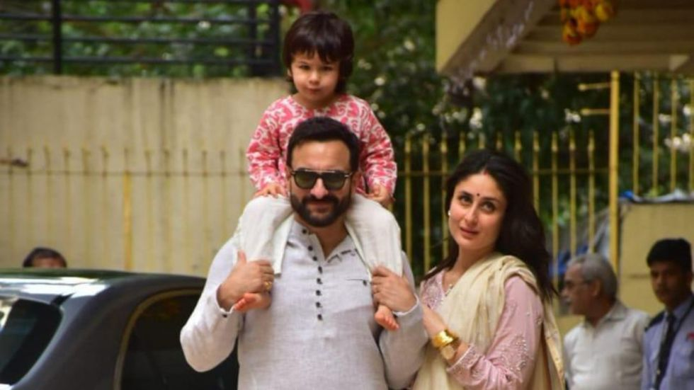 Taimur Screams 'No' At Paparazzi As He Steps Out To Celebrate Diwali.