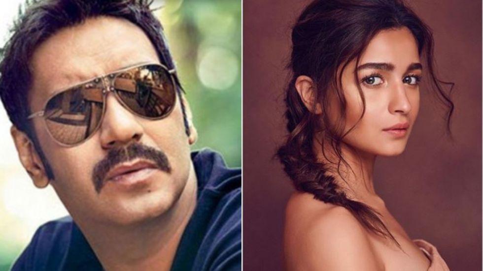Ajay Devgn To Star Opposite Alia Bhatt In Gangubai Kathiawadi?