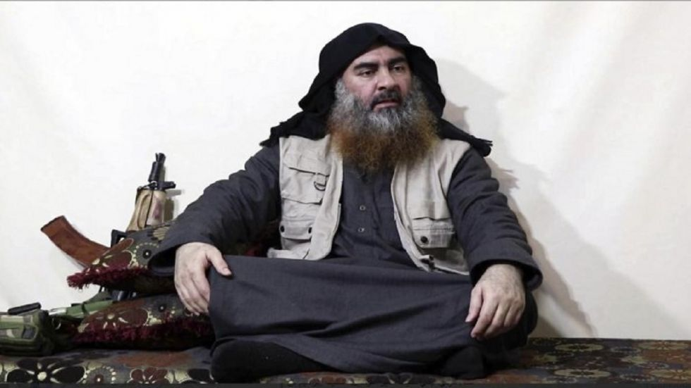ISIS leader Abu Bakr al-Baghdadi blew up his suicide vest when he was chased inside a dead-end tunnel during a raid.