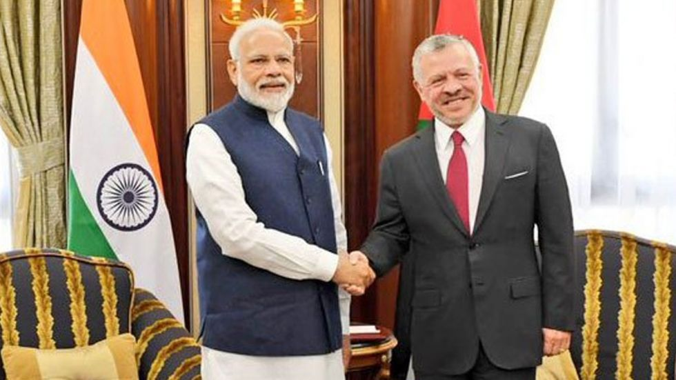 Both Prime Minister Modi and the Jordanian King met last month on the sidelines of the United Nation General Assembly session in New York.