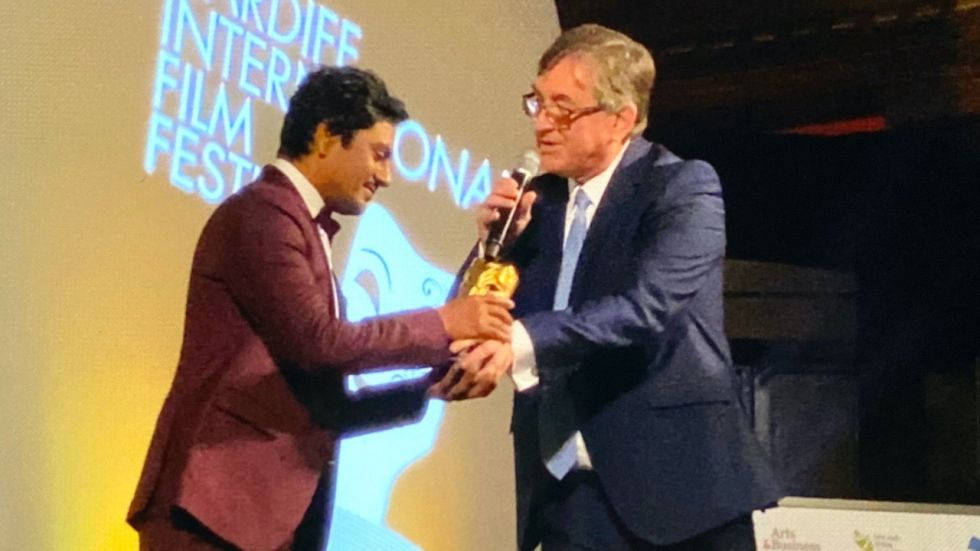 Nawazuddin Receives Golden Dragon Award At Cardiff International Film Festival