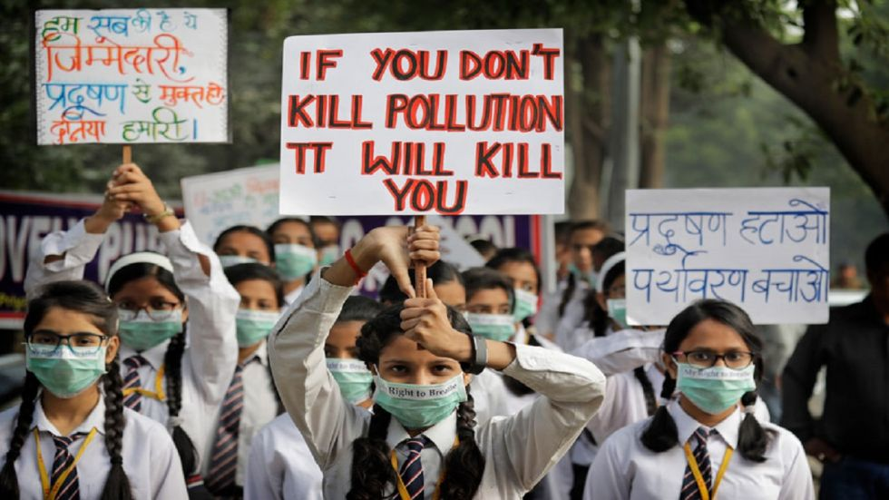 A Gurgaon school principal said they had sent an advisory to parents on Monday to not send their children for classes without masks.