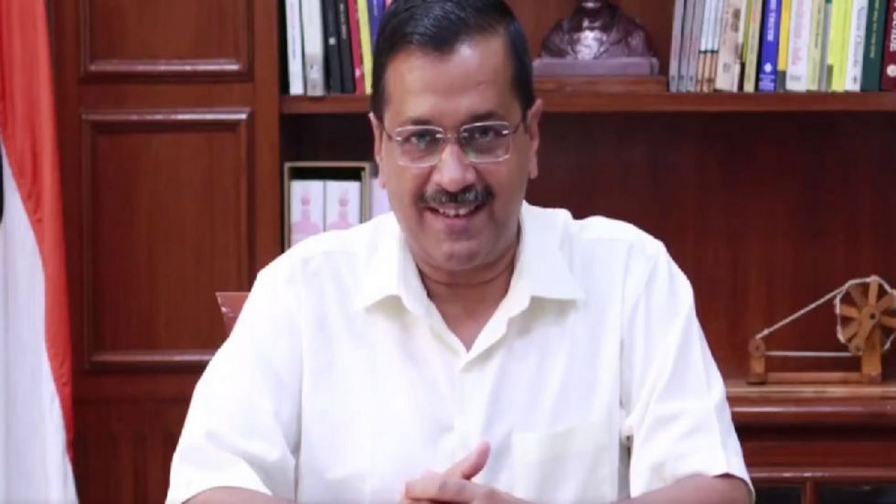Kejriwal boarded public buses on Wednesday to get feedback from women passengers about his government's free-ride scheme.