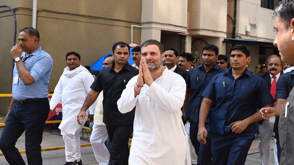 Critics has raised questions on Rahul Gandhi's absence ahead of the Congress agitation.