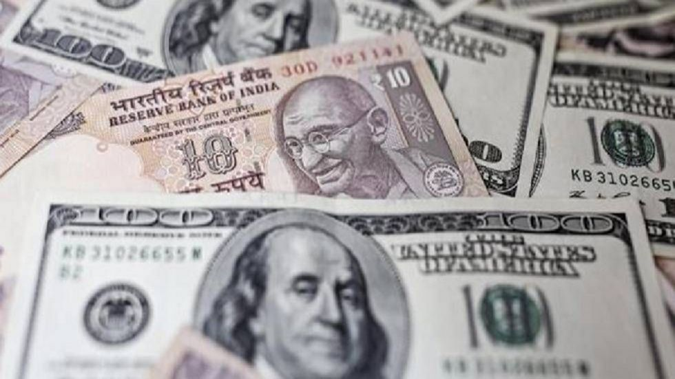 The rupee depreciated by 11 paise to 70.95 against the US dollar in morning trade on Wednesday.