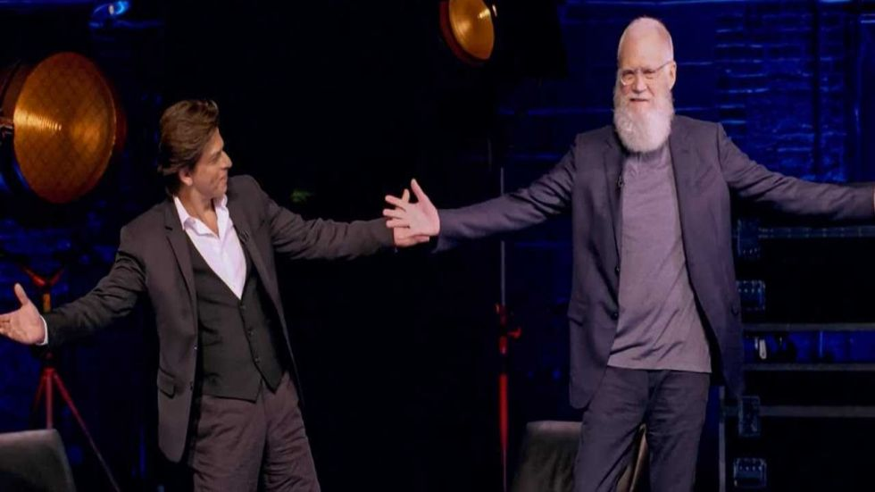 Shah Rukh Khan's Interview With David Letterman' Garners High Ratings on IMDb
