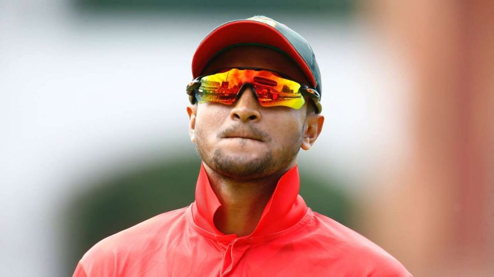 Shakib is out of next year's IPL and World T20