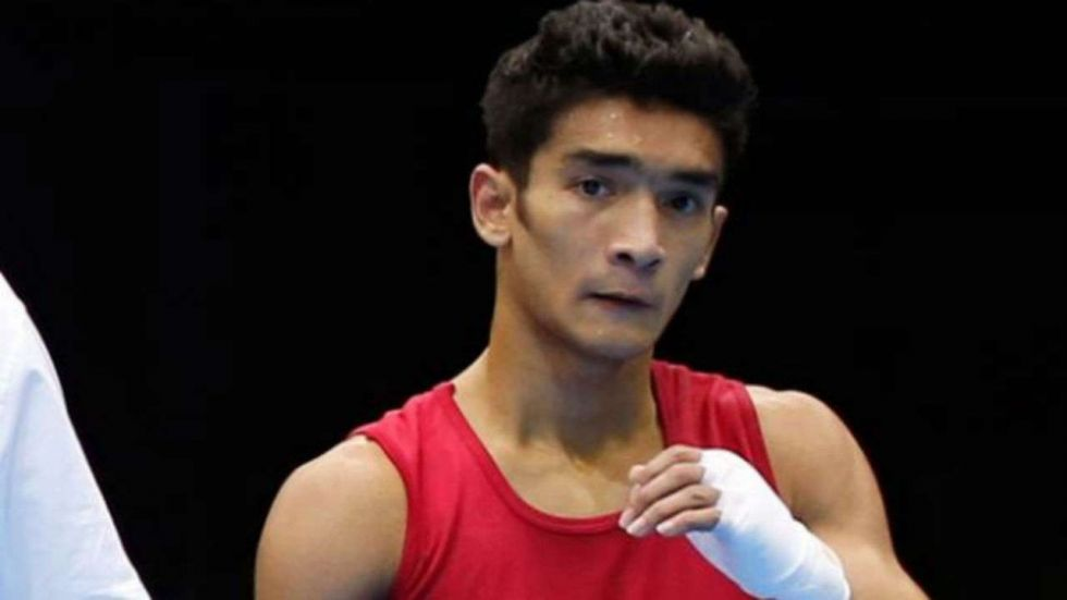 Shiva Thapa advanced to the final with a hard-fought triumph