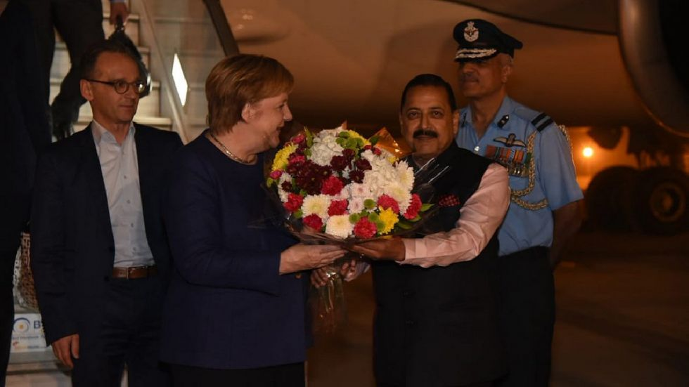 Merkel will be meeting with the Indian leadership, besides a business delegation during her visit.