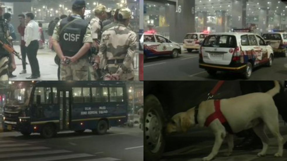 CISF and police have stepped up security at the facility in accordance with standard procedure.