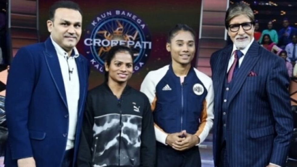 KBC 11: Netizens Find Episode With Dutee Chand and Hima Das Most Inspiring