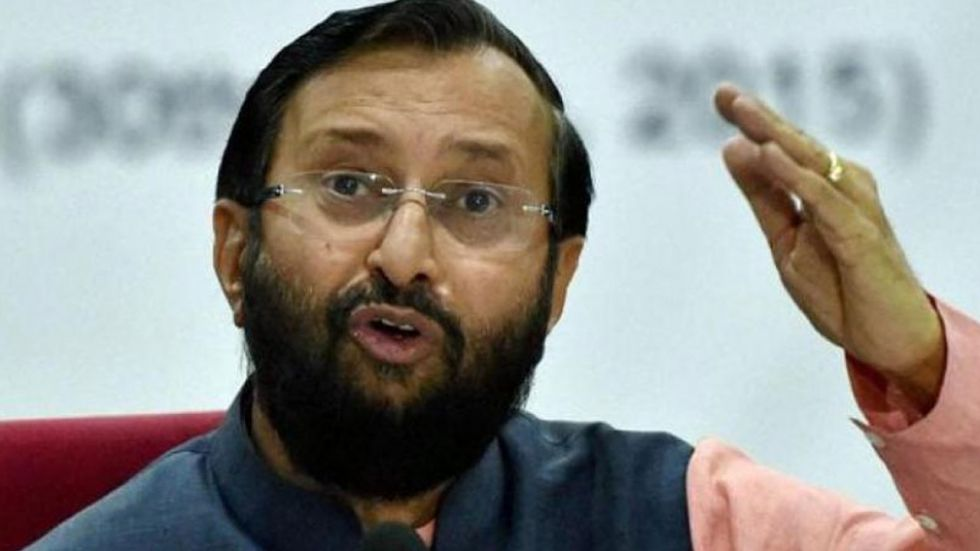 Prakash Javadekar appealed for synergy and cooperation in dealing with pollution and said it should be the way forward, instead of resorting to politics and blame game.