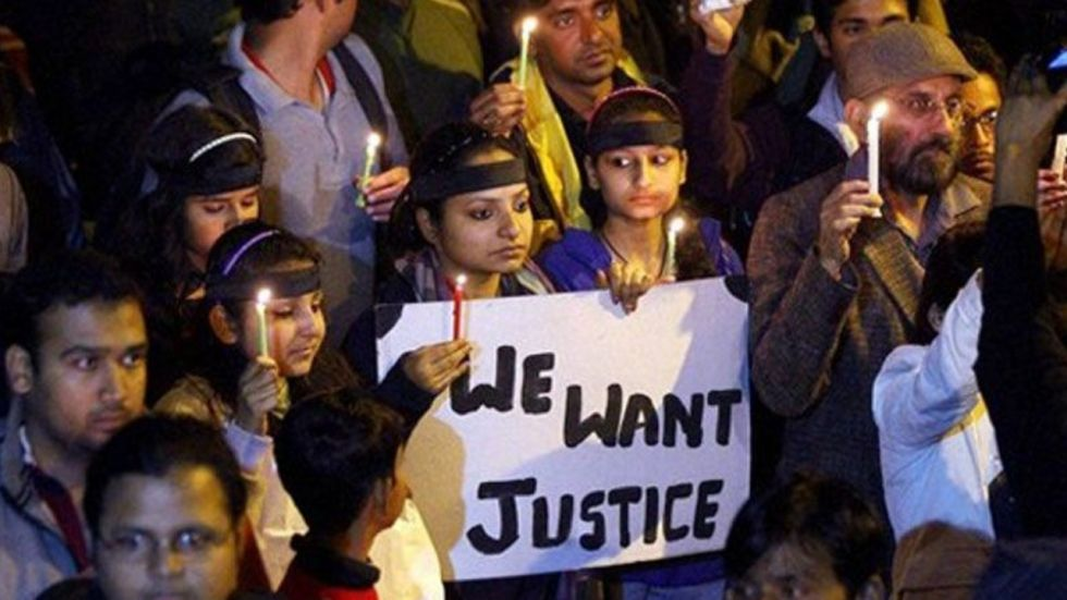 The 23-year-old paramedic student was raped on the intervening night of December 16-17, 2012 inside a running bus in south Delhi by six men.