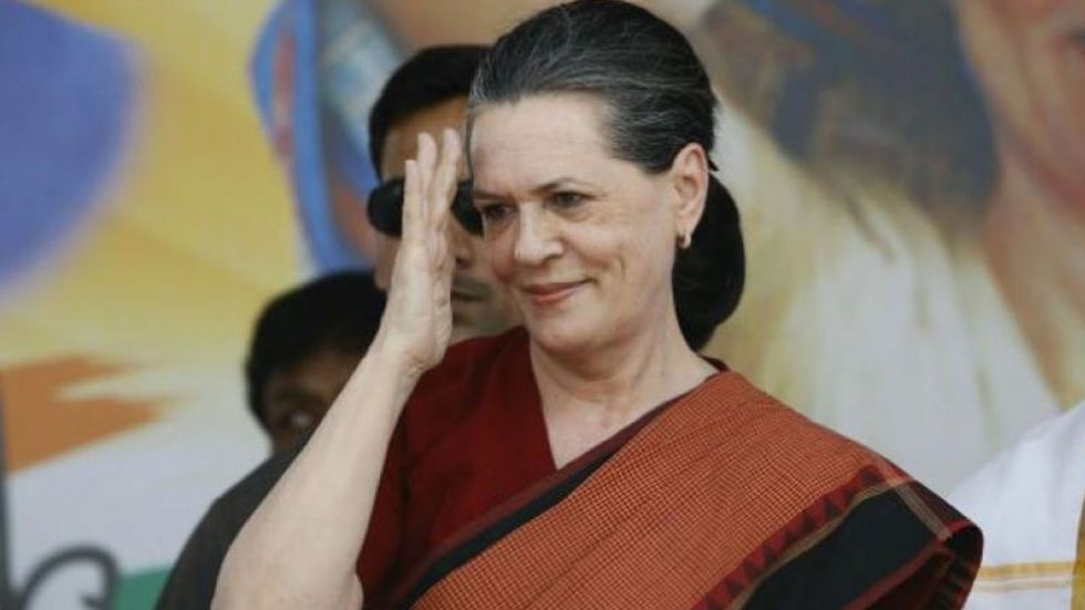 Sonia Gandhi was authorised to pick its leader after the newly elected MLAs on Friday could not elect a head.