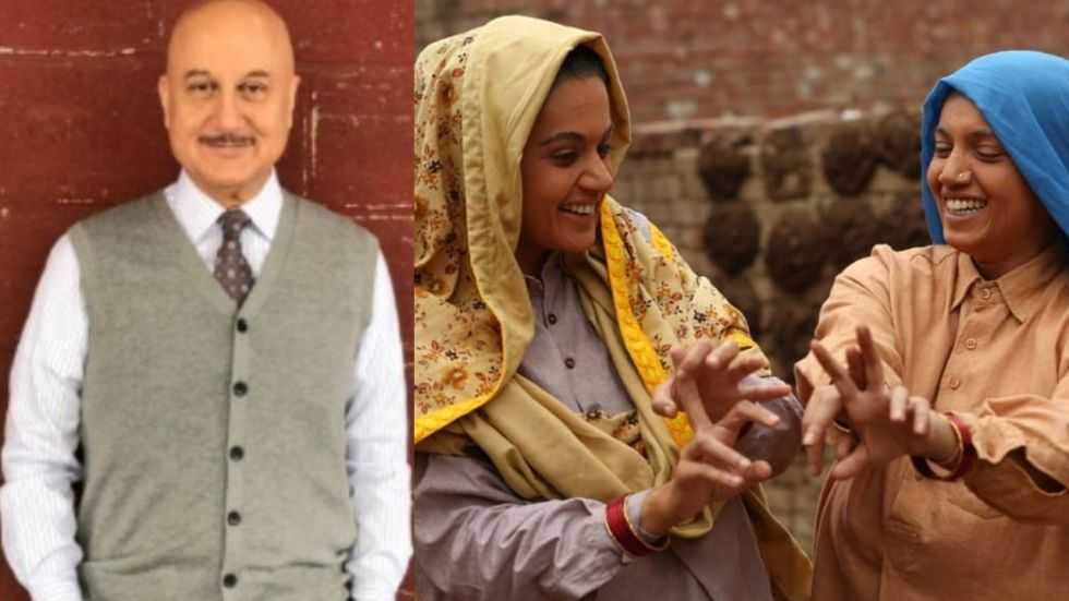 Saand Ki Aankh: Anupam Kher Comes Out In Support Of Taapsee And Bhumi