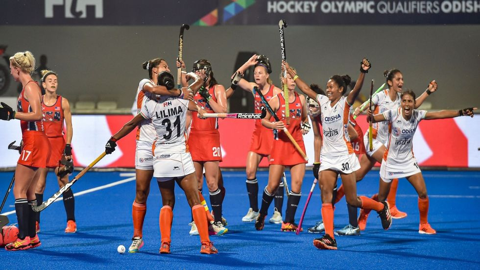 India women's hockey team, ranked ninth in the world, now need to defend their four-goal advantage in Saturday's second and final-leg to seal their Tokyo 2020 ticket.