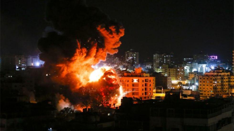 Israeli Retaliatory Airstrikes Kill Palestinian, Claims Gaza Ministry