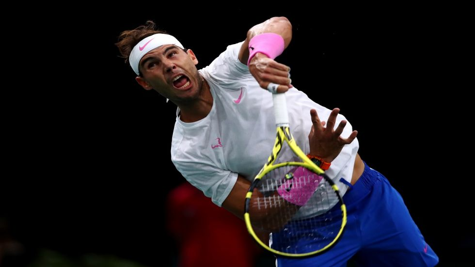Rafael Nadal has now reached 73 Masters semi-finals in total and is two wins away from his 85th ATP title, but only third indoors.