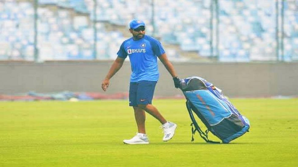 Rohit Sharma could become the leading run-getter in Twenty20 Internationals during the Delhi Twenty20 game against Bangladesh.
