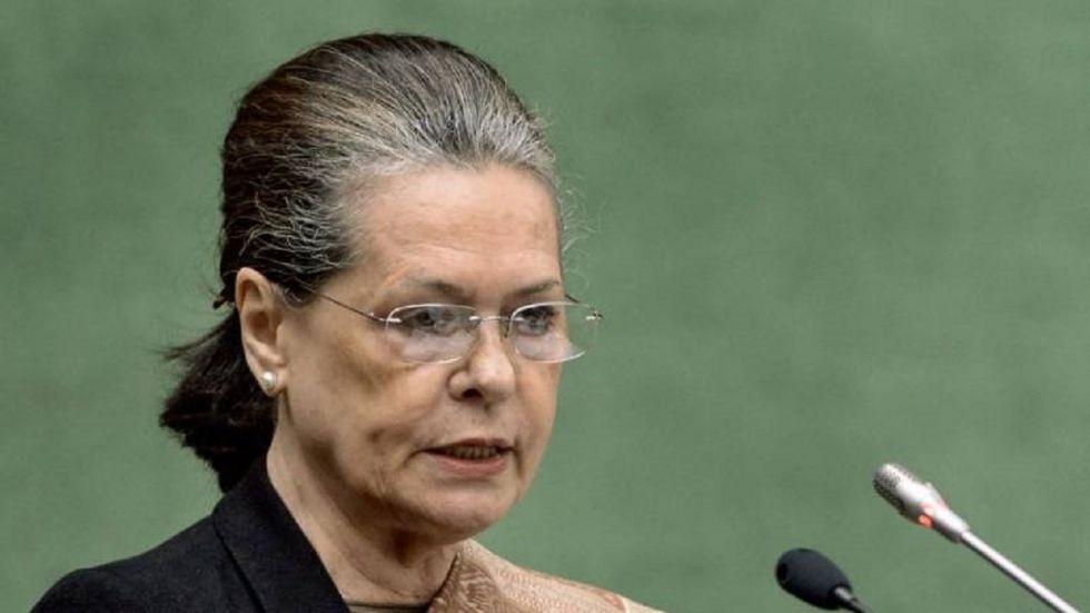 Congress Sonia Gandhi.