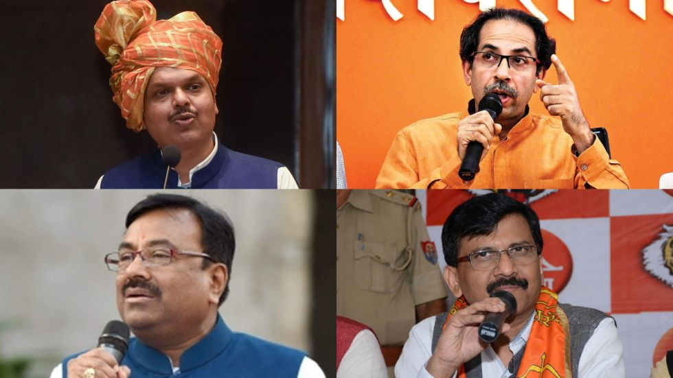 BJP and Shiv Sena have been locked in a bitter tussle over sharing of power